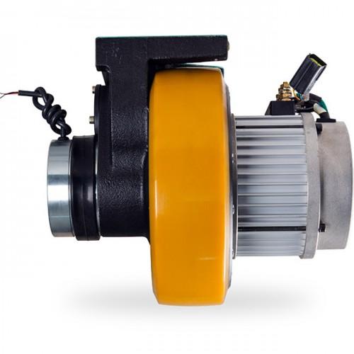 1.5KW BLDC 전동휠+모터 드라이버/AGV,스태커,씨저스테이블 적용(엠티솔루션)