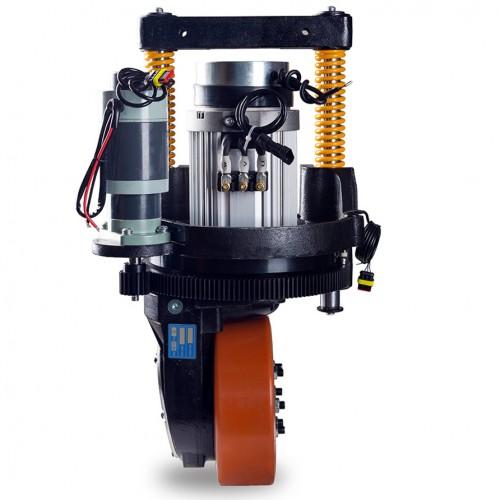 1.5KW AC 수직형 전동휠 및 조향장치+모터 드라이버/AGV,스태커,씨저스테이블 적용(엠티솔루션)