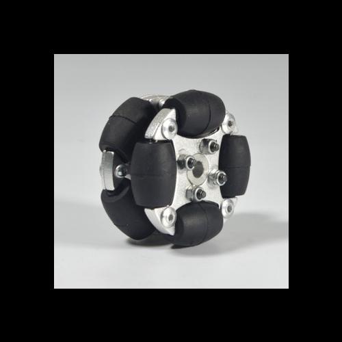 MTO-14166/38mm(1.5인치) 알루미늄 옴니휠(엠티솔루션)/1개 주문시 10개 묶음 배송됨